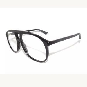 Gucci Black Eyeglasses Clear Lens